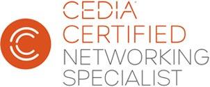 Cedia Certified Networking Specialist Logo