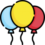 balloons - Icon made by Freepik from www.flaticon.com