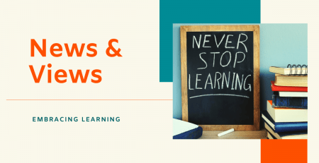 News & Views Embracing Learning